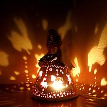 "Dekorácie - ""Kolotočárka""- anjelska aromalampa - 10367736_"