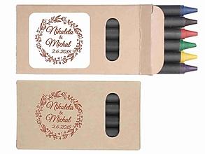 Darčeky pre svadobčanov - Svadobné voskovky Lidy - darček pre hostí - 10367985_