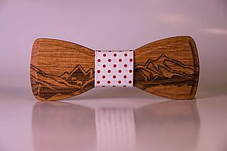 Doplnky - Drevené motýliky tatry - 10370134_