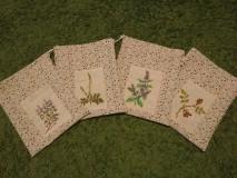 Úžitkový textil - Vrecko na bylinky - 10369300_