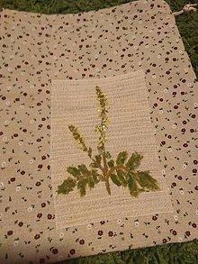 Úžitkový textil - Vrecko na bylinky (Repík) - 10369287_