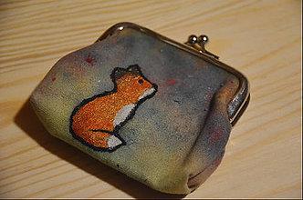 Peňaženky - Peňaženka líška - 10369545_