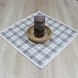 Úžitkový textil - KAMIL - obrúsok štvorec 40x40 - 10369440_