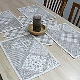 Úžitkový textil - KAMIL - obrúsok štvorec 40x40 - 10369450_