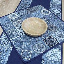 Úžitkový textil - NAVY (1) - obrus štvorec - 10367063_