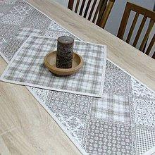 Úžitkový textil - KAMIL - stredový obrus 135x40 - 10370021_
