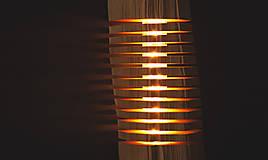 Svietidlá a sviečky - Segmentovaná lampa - 10370653_