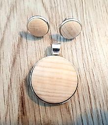 Náhrdelníky - Wood me - 10368183_