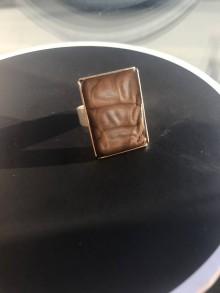 Prstene - Postriebrený prsteň epoxy premieňavá farba - 10369015_
