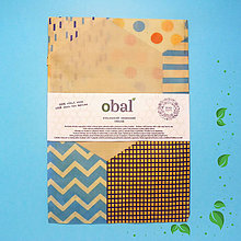 Úžitkový textil - Voskované vrecko - Plásty - 10370313_