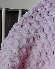 Textil - Detská deka - ružová - 10369909_