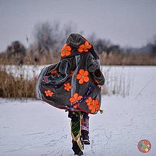 Kabáty - Origo kabát kvety - 10366923_