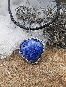 Náhrdelníky - Srdce z oceánu - 10367185_