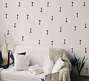 Dekorácie - Nálepky na stenu - Škandinávske šípky 161 ks - 10367925_