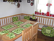 Úžitkový textil - jablčka - 10367569_