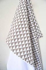 Úžitkový textil - HAJA Easy... bočný vankúš... geometrické motívy - 10372518_