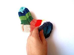 Topánočky - Ponožtičky dvojité do šatky - 10371801_