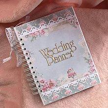 Papiernictvo - Svadobný plánovač - 10372720_