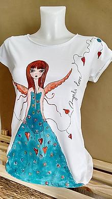 Tričká - Angel's love - 10374512_