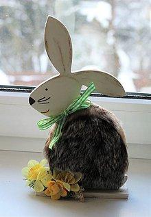 Dekorácie - Veľkonočný zajac - 10372342_