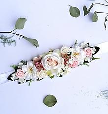Opasky - Kvetinový opasok - 10372982_