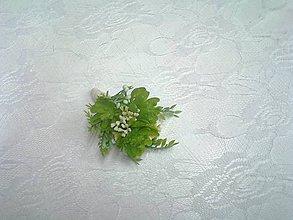 "Pierka - pierko pre ženícha ""sukulenty"" - 10371195_"