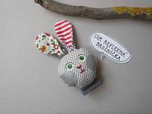 Odznaky/Brošne - Zajačik - reflexná brošnička * - 10374046_