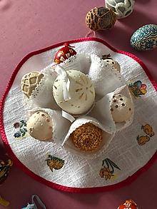 Úžitkový textil - Puzdro na veľkonočné vajíčka - 10373827_