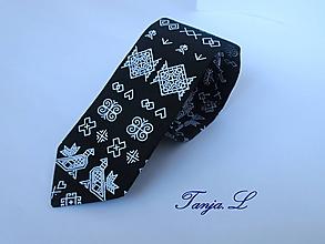 Doplnky - kravata folk