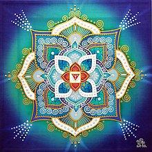 Obrazy - Mandala zdravia a uzdravenia životnej sily - 10374197_