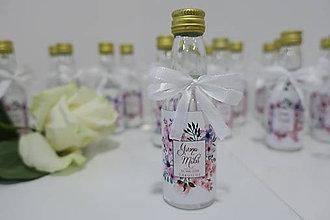 Darčeky pre svadobčanov - Svadobné darčeky - minifľaštičky - 10373173_