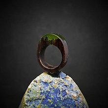 Prstene - Drevený prsteň: S príchuťou jabĺk - 10372266_