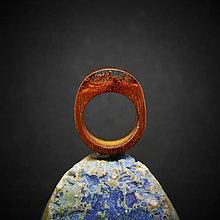 Prstene - Drevený prsteň: Horský prameň - 10372615_