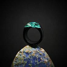 Prstene - Drevený prsteň: Medzi svetmi - 10372745_