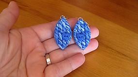 Pleteničky - modré navety, č. 2564