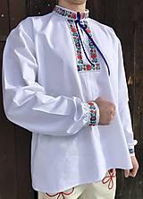 Oblečenie - Folklórna košeľa pánska Štefan - 10371683_