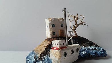 Dekorácie - Prázdninový domček na pobreží - 10371064_
