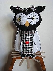 Bábiky - Pravá dáma (Sova Aurélia) - 10373539_