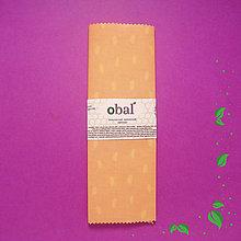 Úžitkový textil - Voskovaný obrúsok - Fliačky - 10371436_