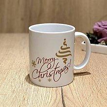 Nádoby - Hrnček - merry christmas - 10374625_