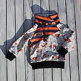 Detské oblečenie - súpravička pásik - 10373753_