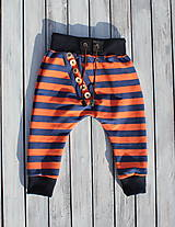 Detské oblečenie - súpravička pásik - 10373754_