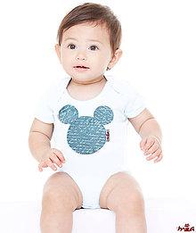 """Detské oblečenie - Mickey - """"poetické"""" body (limitovaná edícia) - 10371517_"""