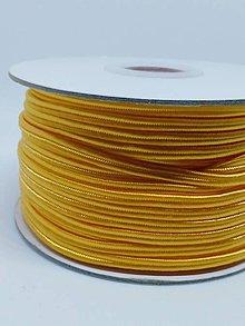 Galantéria - Šutaška - 100% nylon - 1m (Mandarinka A 021) - 10372916_