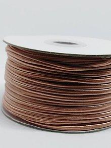 Galantéria - Šutaška - 100% nylon - 1m (Lososová tmavá A 067) - 10373257_