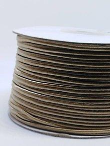 Galantéria - Šutaška - 100% nylon - 1m (Lieskový oriešok A 111) - 10373258_