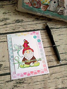 Papiernictvo - Pohľadnica trpaslík - 10372337_