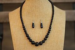 Náhrdelníky - Náhrdelník z minerálov onyx + náušnice zdarma! - 10371141_