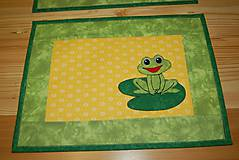 Úžitkový textil - žabky - 10371413_