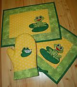 Úžitkový textil - žabky - 10371415_